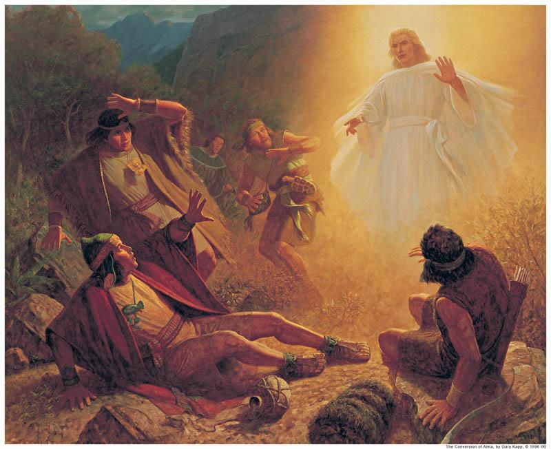 Conversion Alma Younger Mormon
